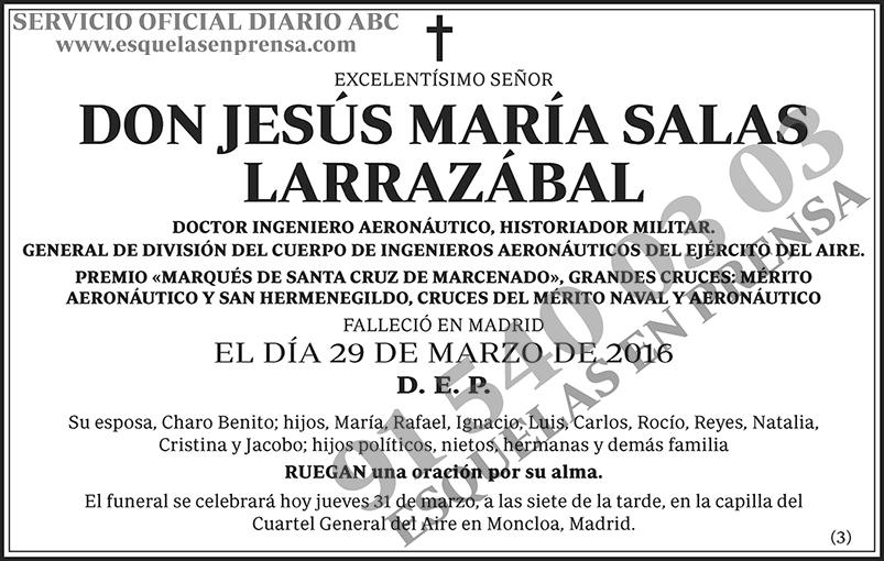 Jesús María Salas Larrazábal
